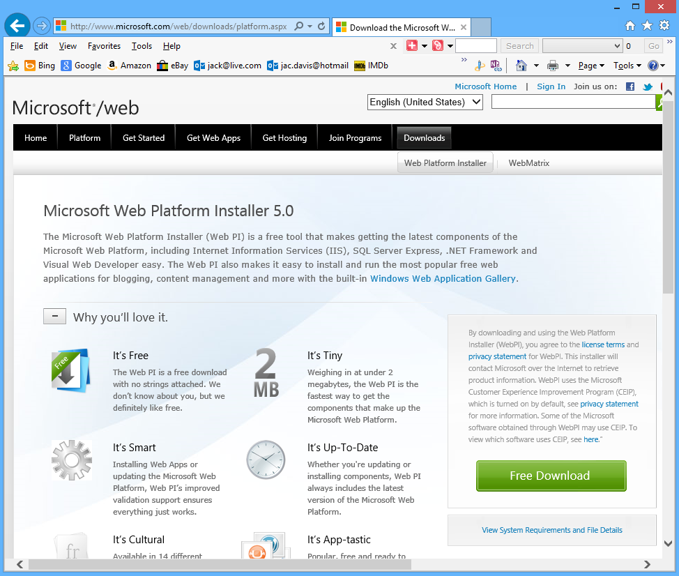Installing on microsoft iis wordpress codex for Web and windows