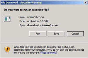 File download security warning