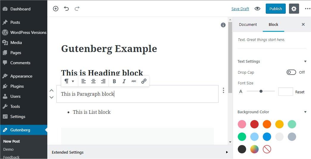 Wordpress 5.0: un vistazo a lo que trae.