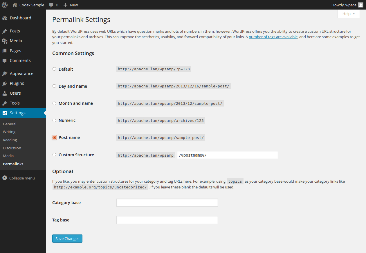 How To Configure Permalink On Wordpress