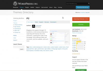 appearance themes screen wordpress codex rh codex wordpress org manual wordpress portugues