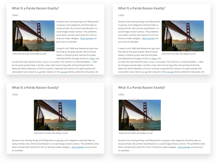 how to create gridview in wordpress