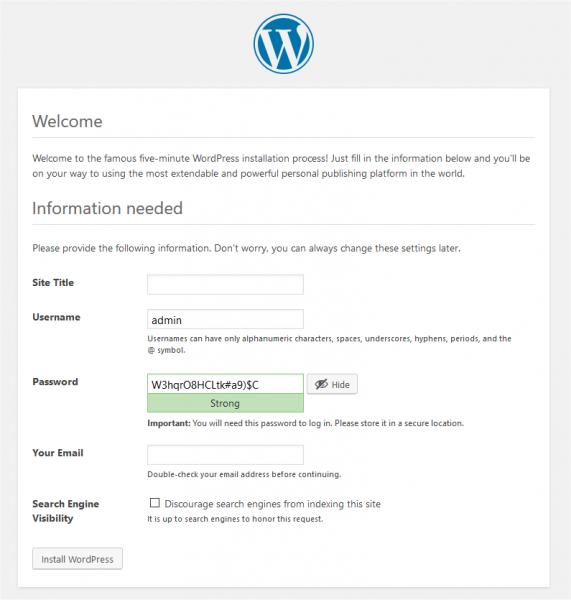 WordPress Setup Manually in C-panel