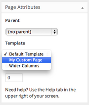 How To Change The Page Template In Wordpress Themeisle Docs