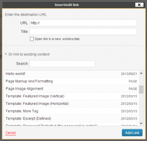 User:TV productions/Use WordPress dialogs in your TinyMCE plugin ...
