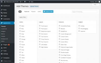 Feature Filter Screen